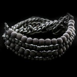 Lane Bryant Stretch-Bracelet Black NWOT
